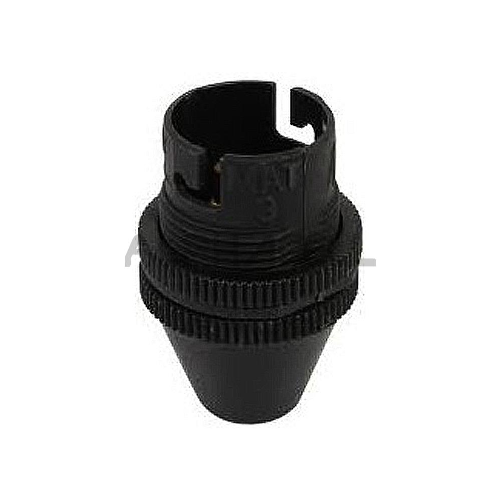 LAMPHOLDER 10MM BLACK