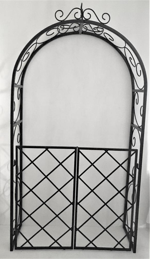 GARDEM ARCH WITH GATE