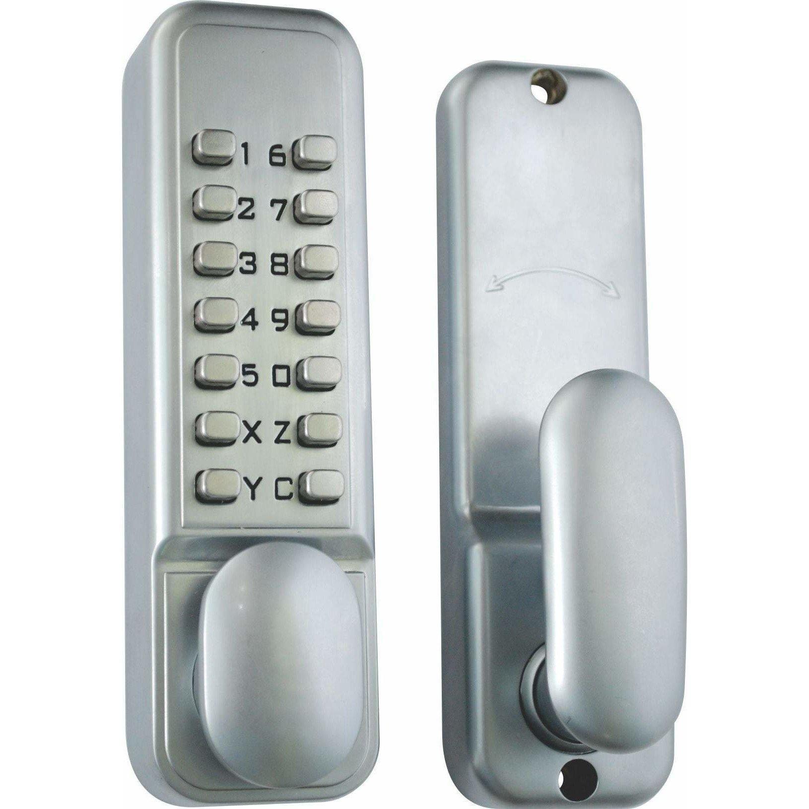 Digital keypad lock