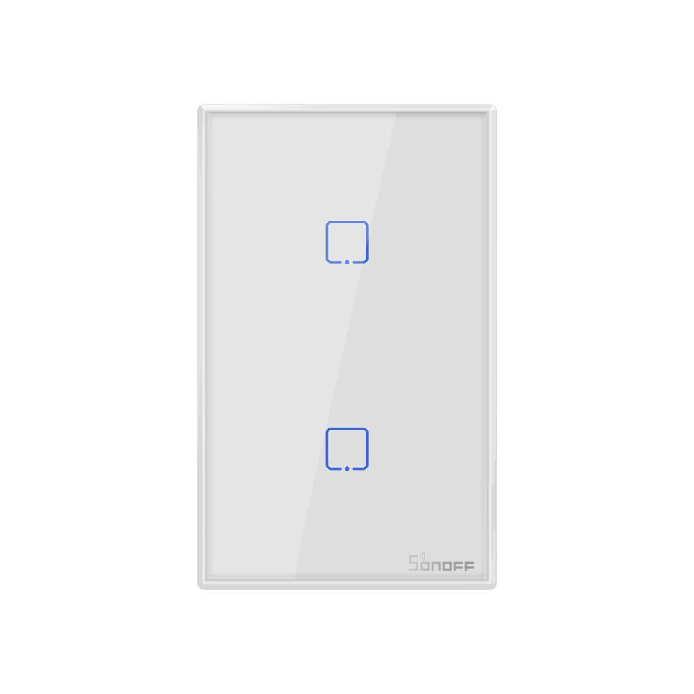 Sonoff Smart Light Switch White 2CH WiFi\RF433 T2US2C