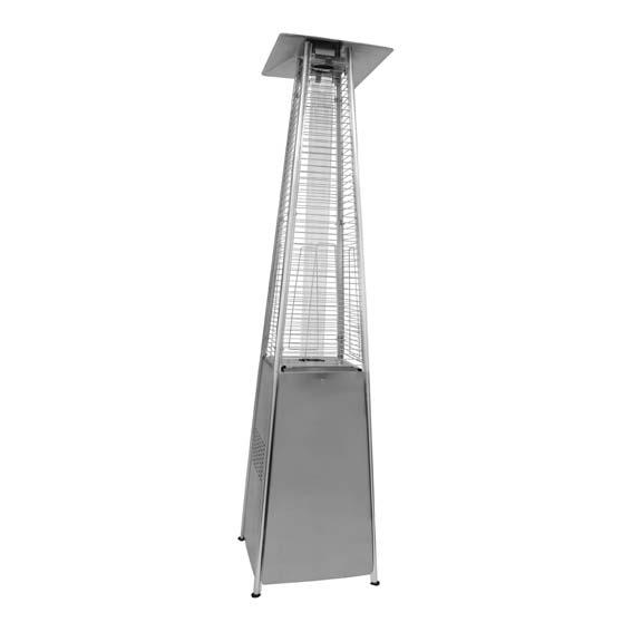 Alva - Designer Quartz Glass Patio Heater