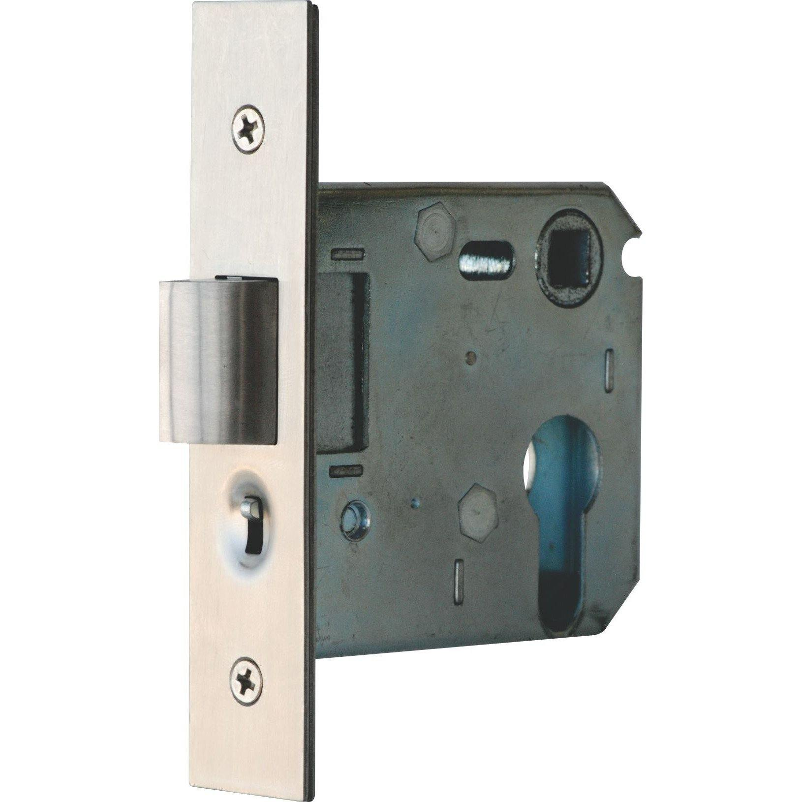 Gate latch lock with hold open (Lock Body Only)