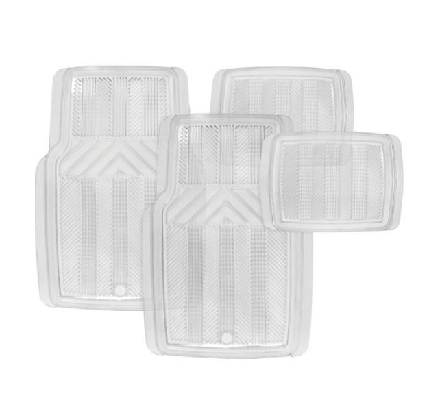 Michelin - 4Pc Techno Clear Mat Set - TT8303