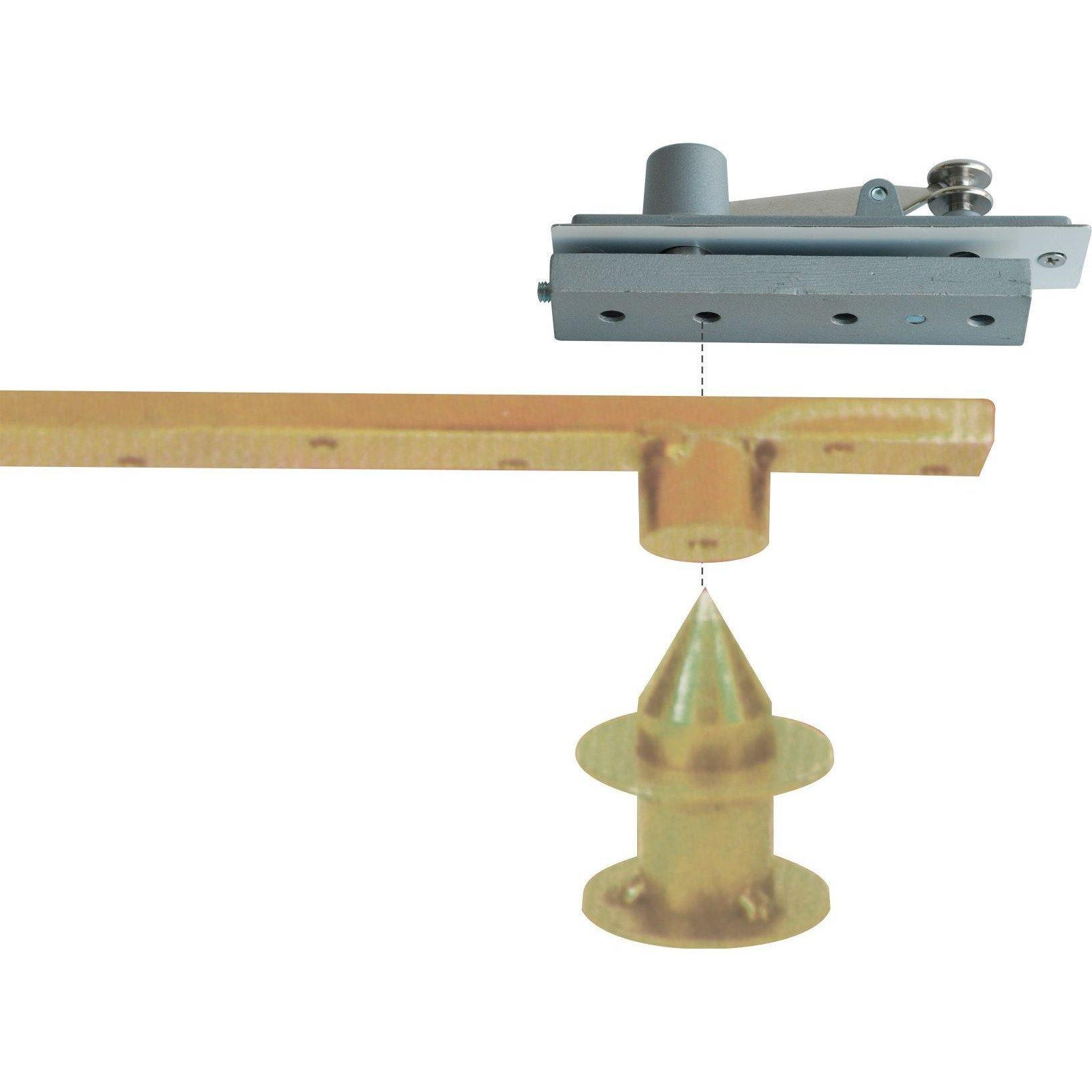 Pivot hinge - cone shaped