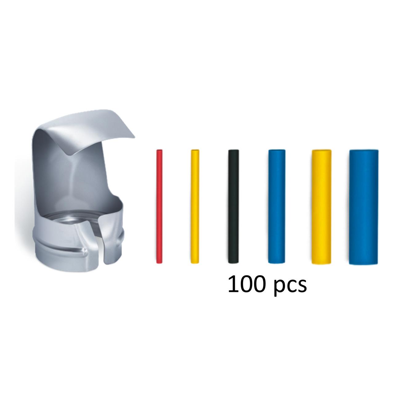 Steinel Shrink Tubing Kit - Heat Shrink 100pcs - German quality
