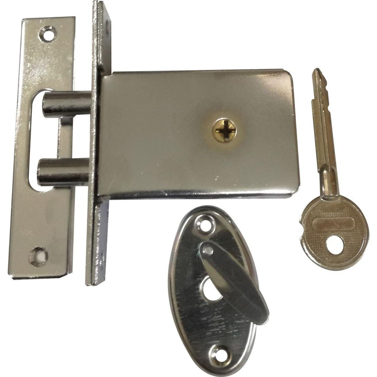 Two Pin Security Lock with Star Key