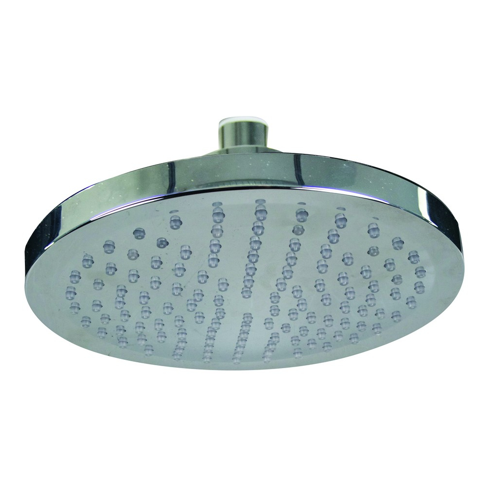 Temperature Controlled LED Shower Head - Round