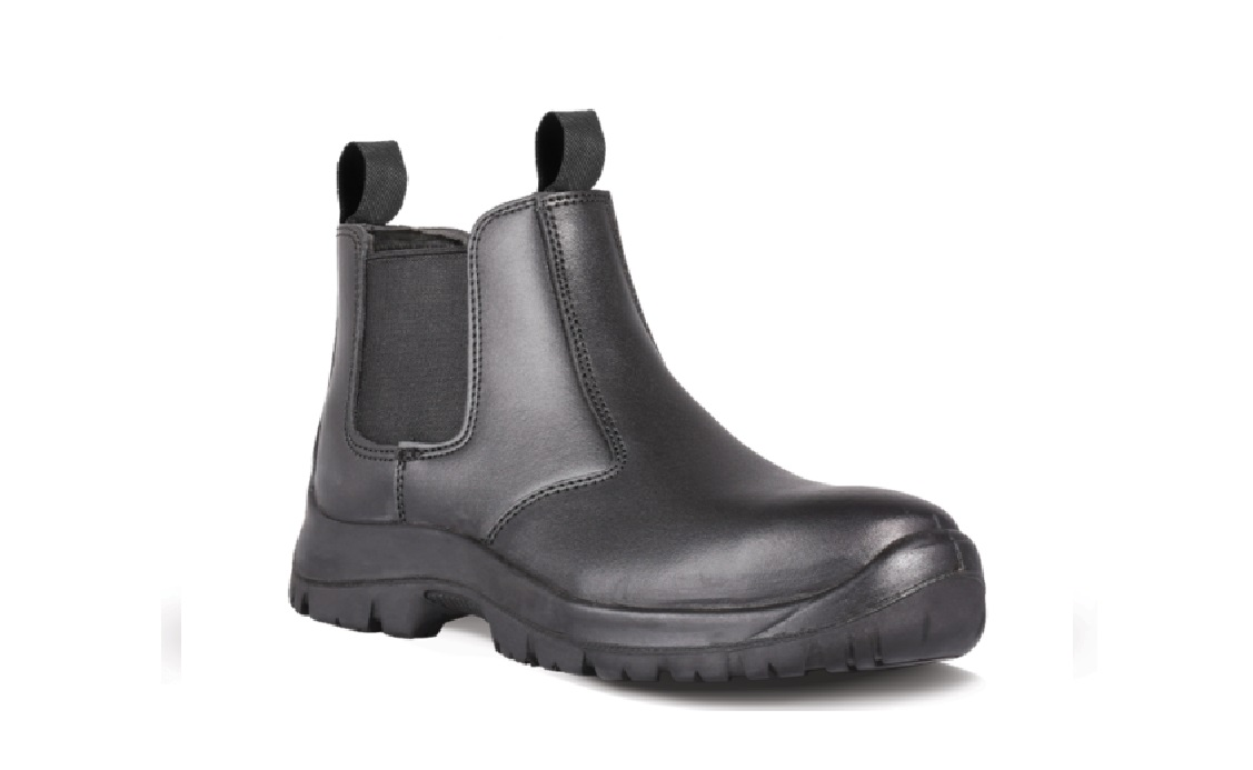 DOT Chelsea Safety Boot Black Size 10