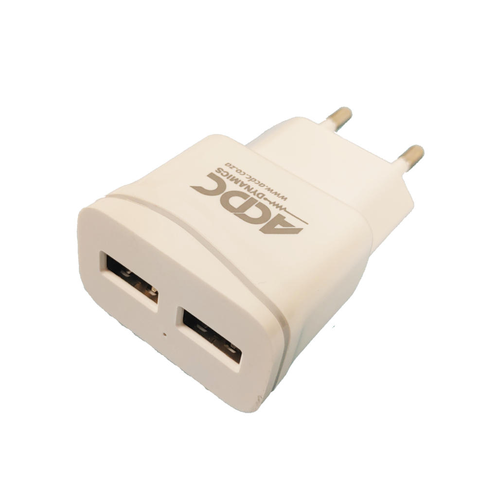 2 Way USB Charger Adapter