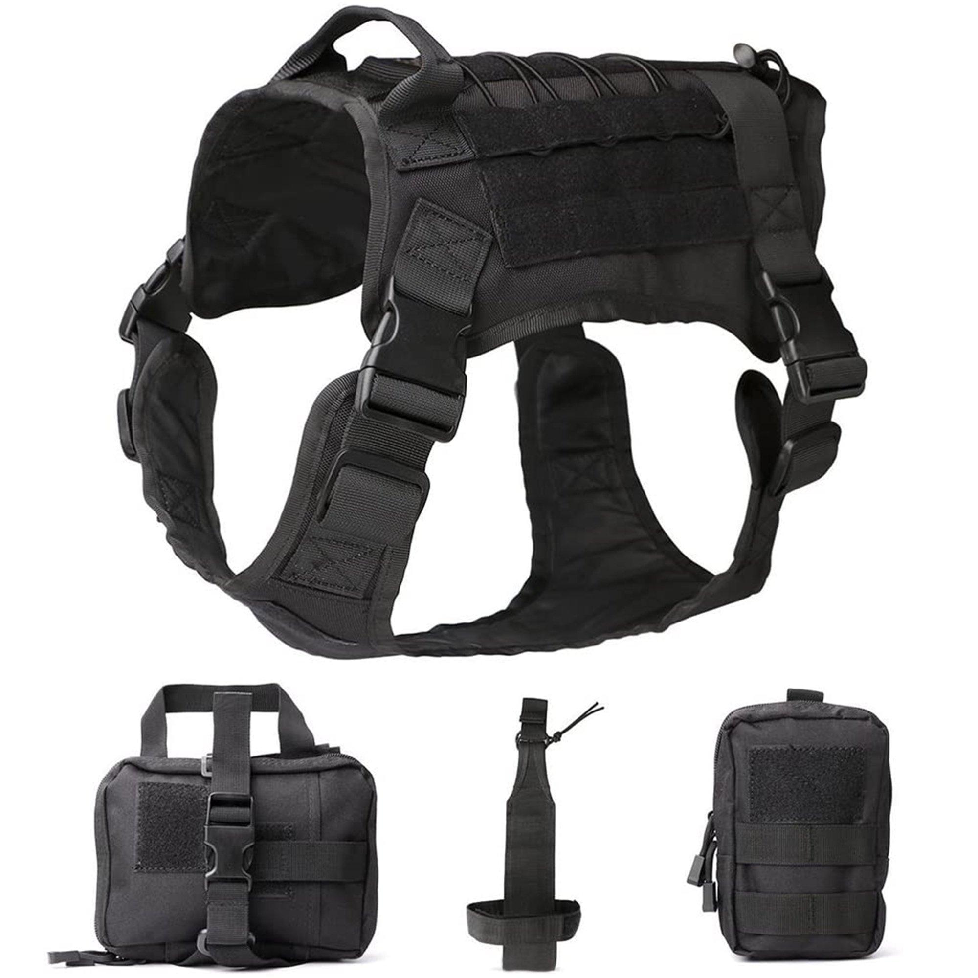 Tactical Dog Harness Vest Set - XL