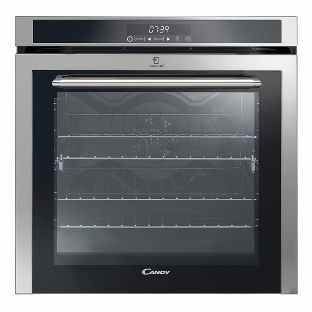 Oven 60cm - 80L - Multifunctions (9) - Fulltouch - Inox - Wifi - Soft close