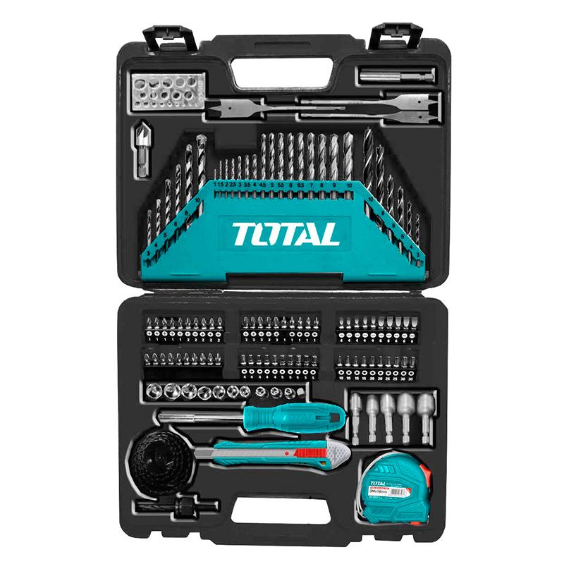 Total Tools Accessories Set 118Pcs