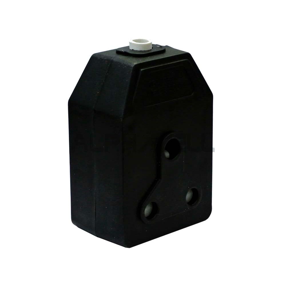 JANUS COUPLER BLACK PVC