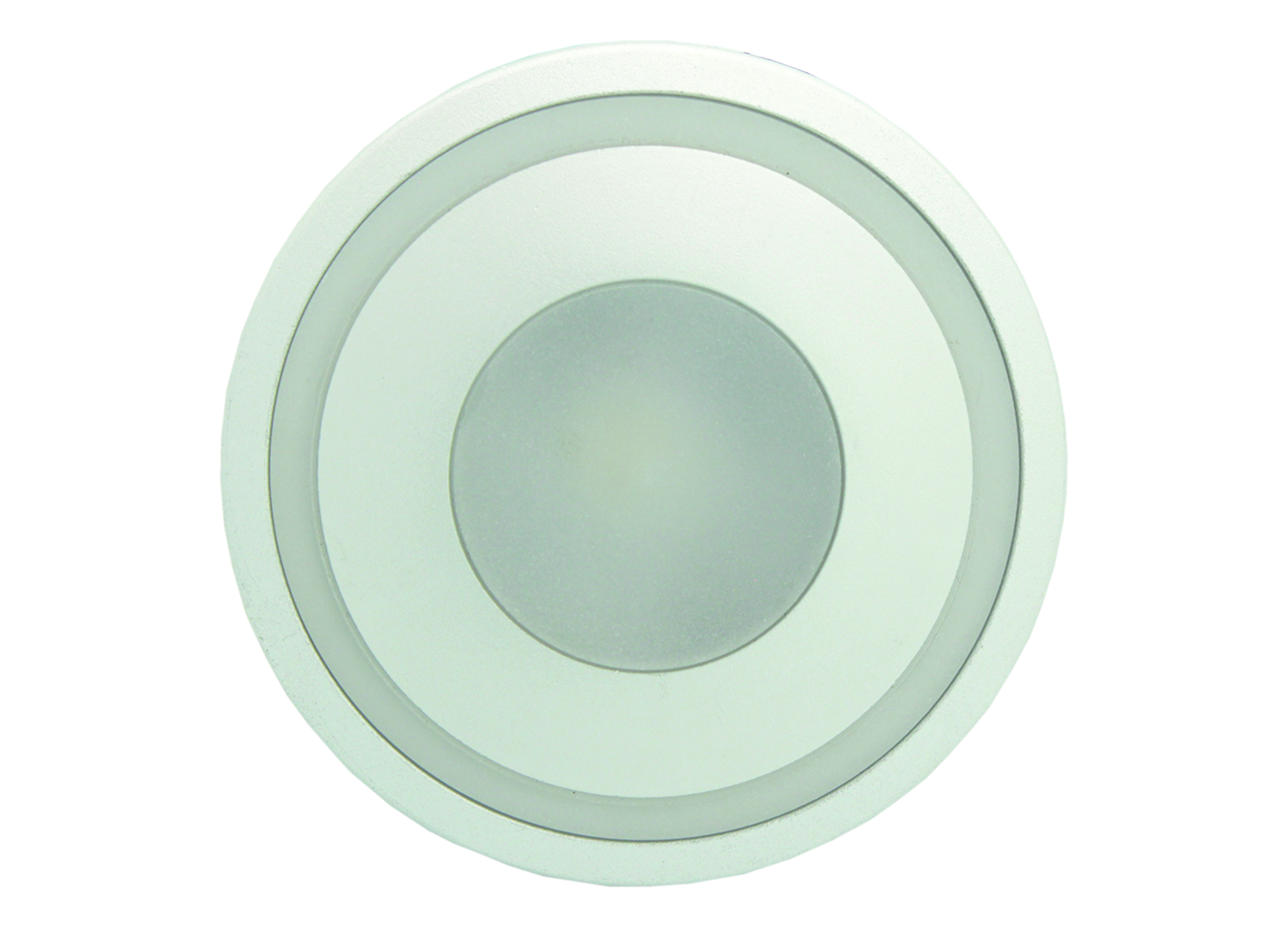Aluminium Rounded Modern Cool White Step Lights (S3A-33C) - VETi