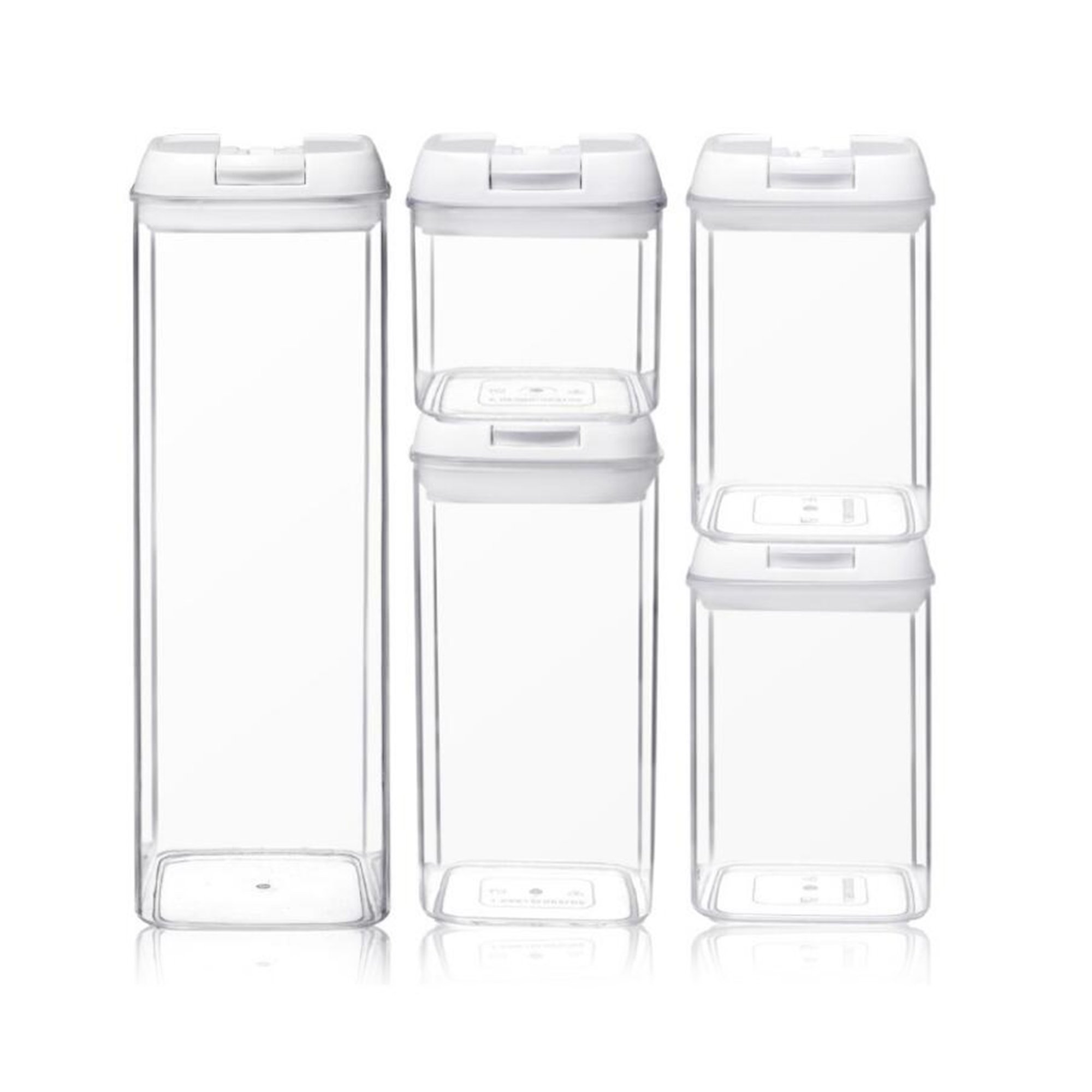 Airtight Food Storage Containers 5Pcs Set