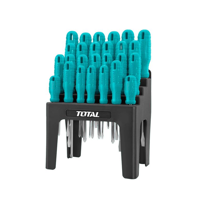 Total Tools Screwdriver Set 26Pcs