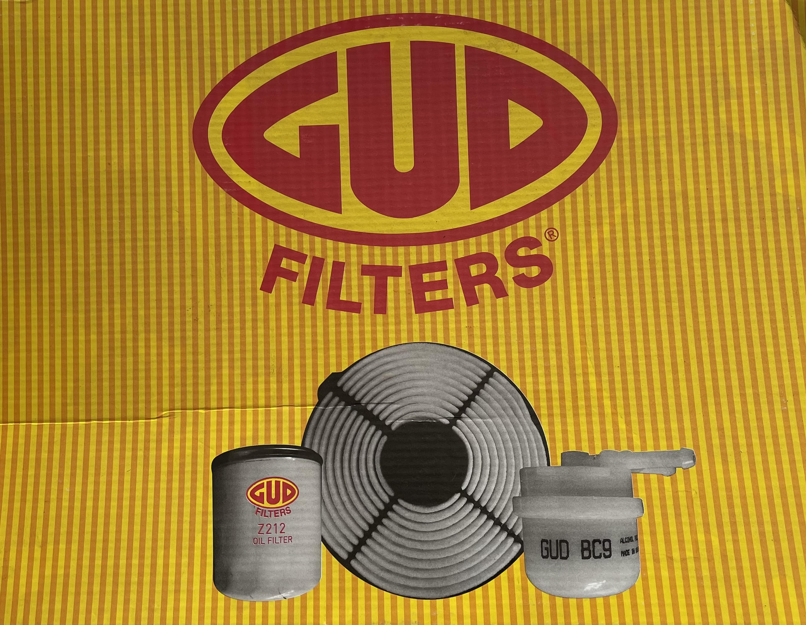 Filter Service Kit Chev - Toyota Conquest & Corolla 1.3 Models (1998 - 2006)  GUD (FK17)