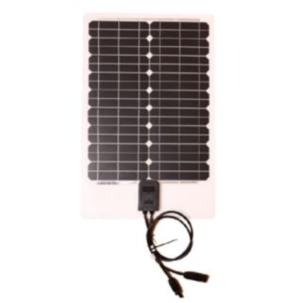 10W Semi-Flexible Solar Panel
