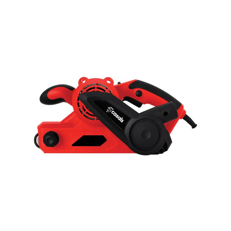 Casals Belt Sander 6 Speed With Dust Bag Plastic Red 76x533mm 8