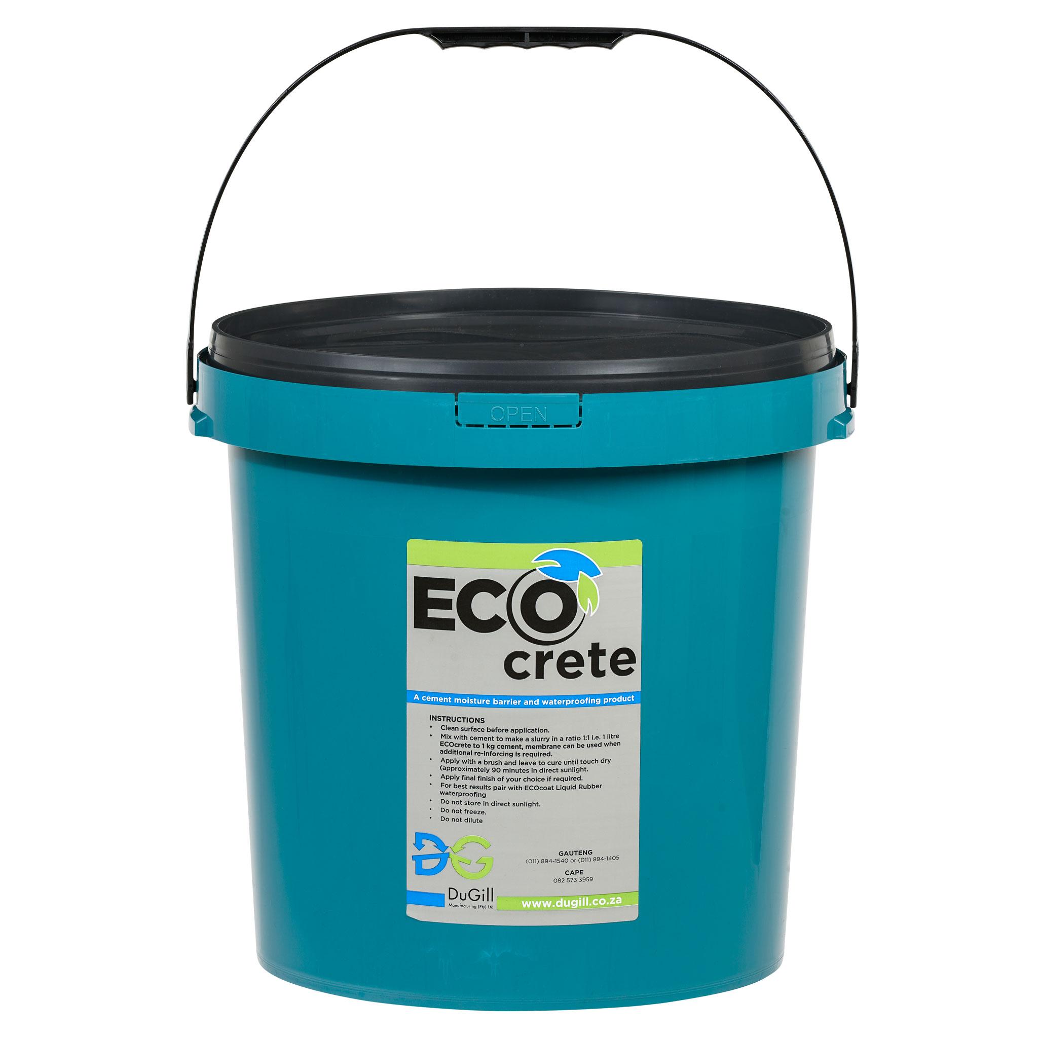 EcoCrete Concrete/Cement Waterproofing Repairs  20L