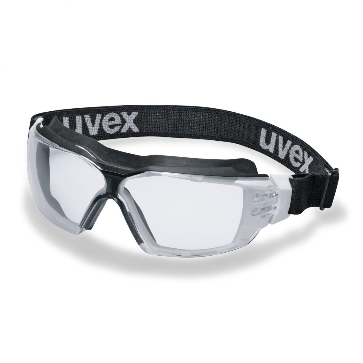 uvex pheos cx2 sonic Safety goggles - Black-Clear