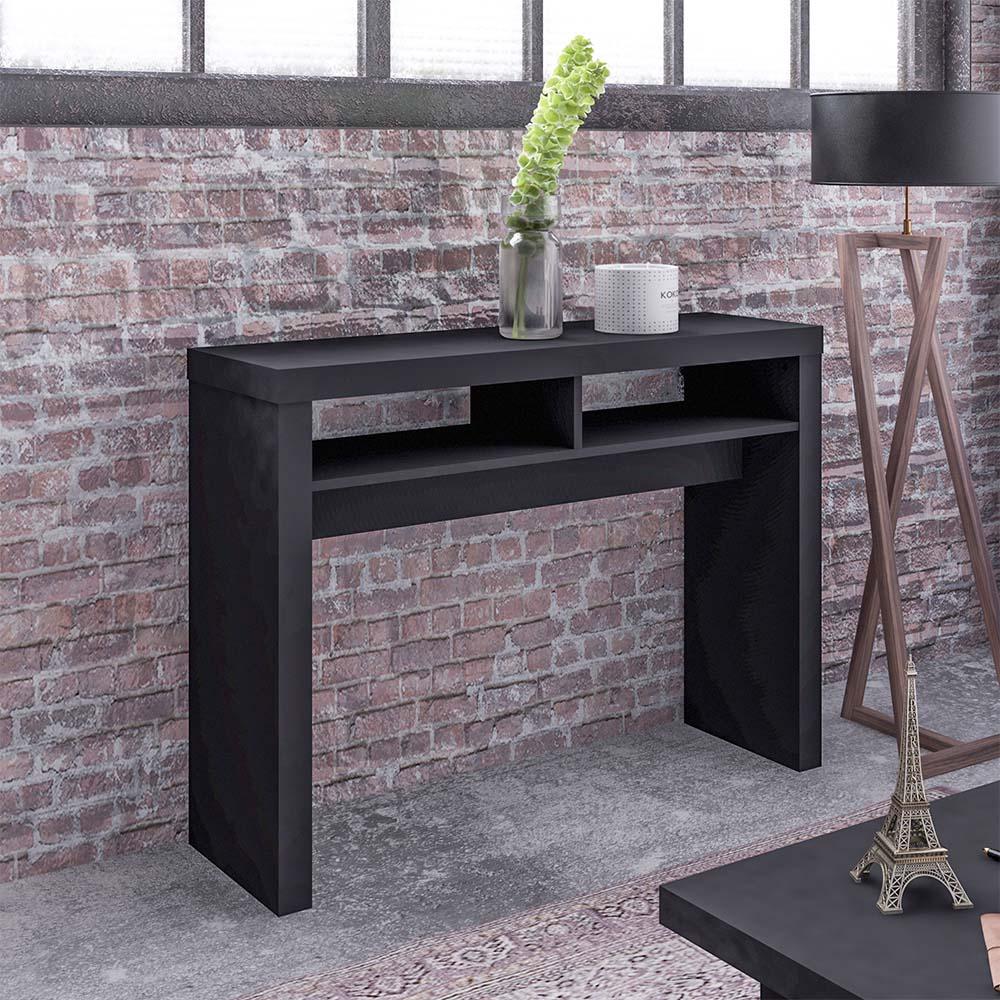 Click Furniture Vegas Console Table Black