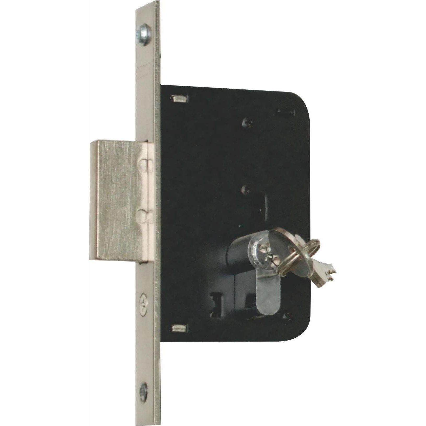 Security Gate Lock - 40mm Backset Deadlock