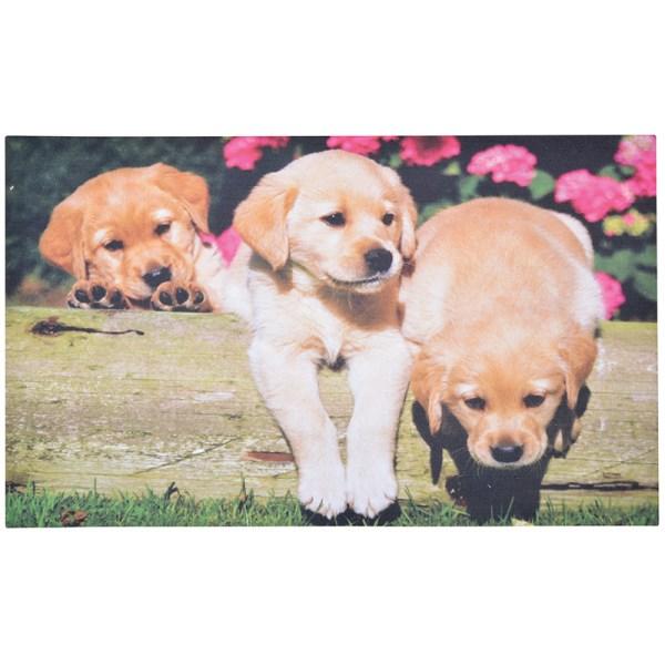 Doormat 'Labrador Puppies'