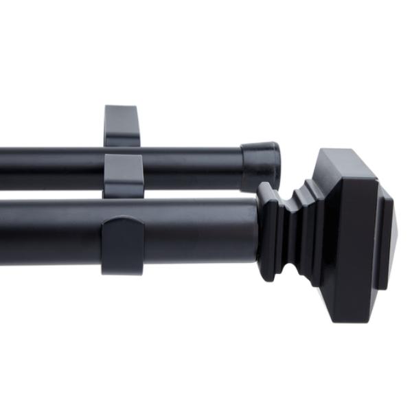 22/25 Front & 16/19 Back Exp Pole Black 1.6-3.0m