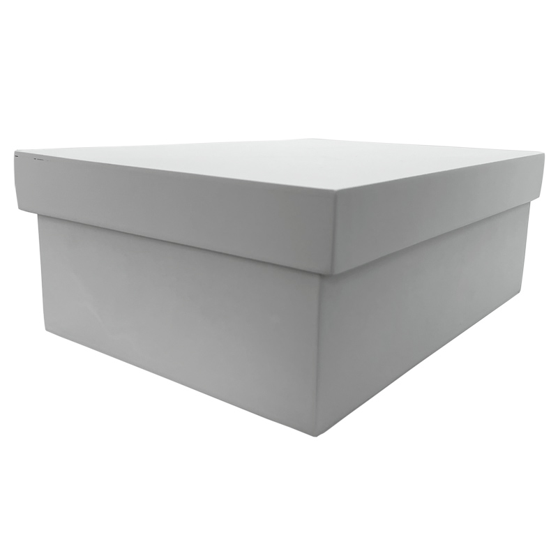 A4 Novelite Storage  Box - White- Wood