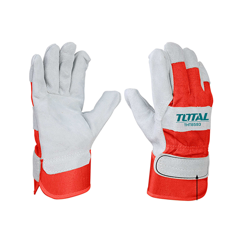 Total Tools 2 Pair Leather gloves