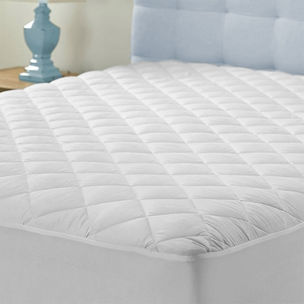 Bedtime Bliss - Mattress Protector - Quilted Mattress Pad - Double
