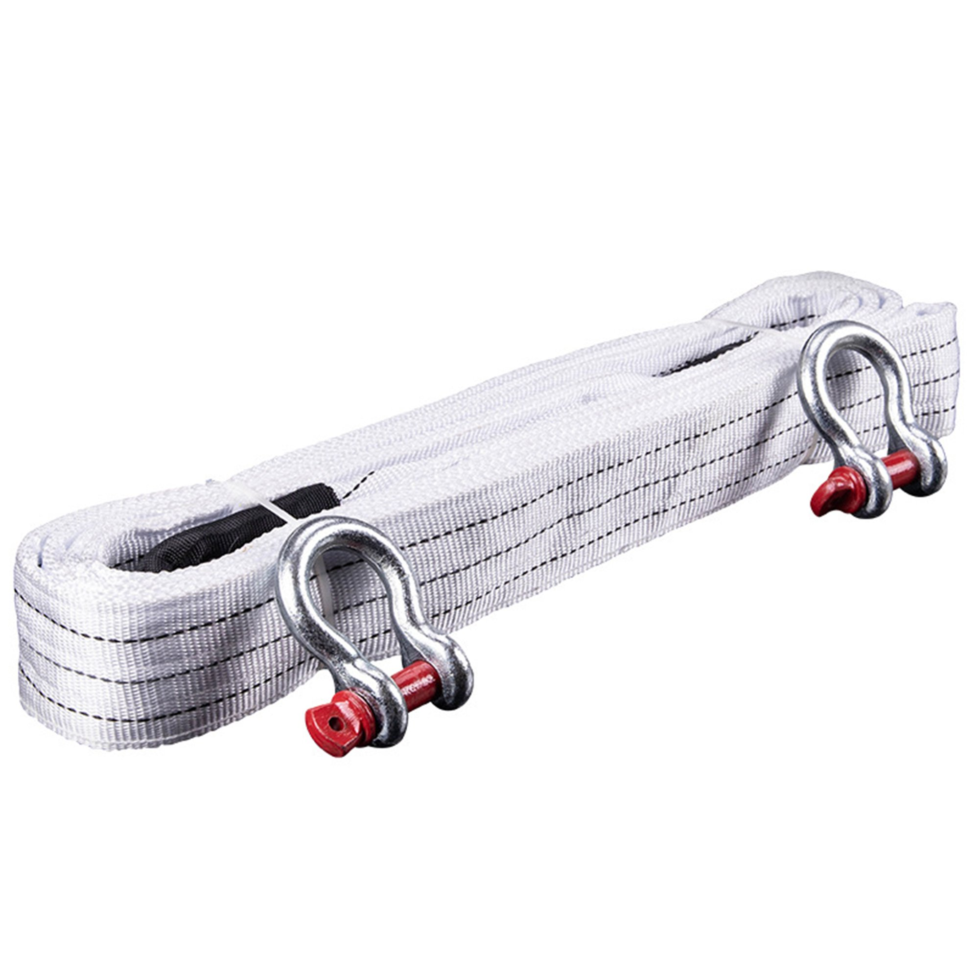 18 Tons Heavy Duty Rope with D Ring Shackle - 5m