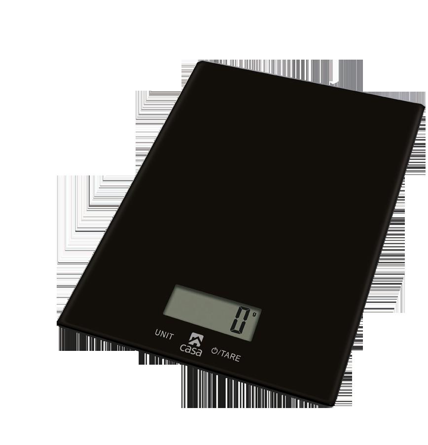 Casa Kitchen Scale  Glass - Nero