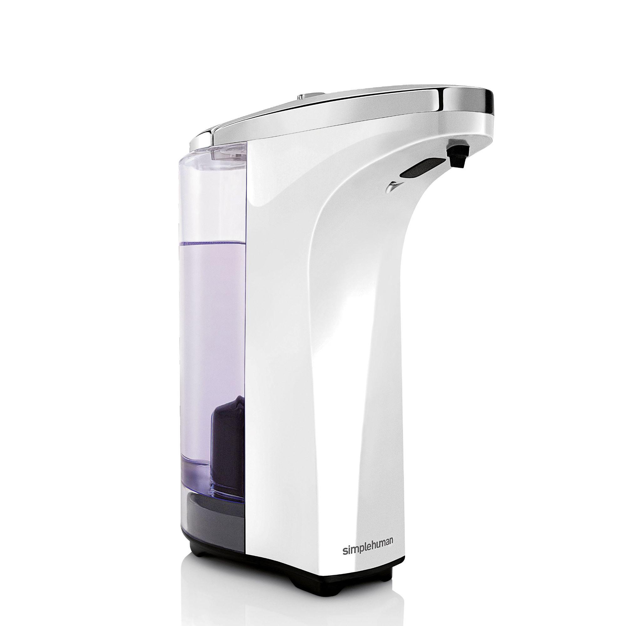 Simple Human - 237Ml Sensor Pump W/ Soap Sample - White