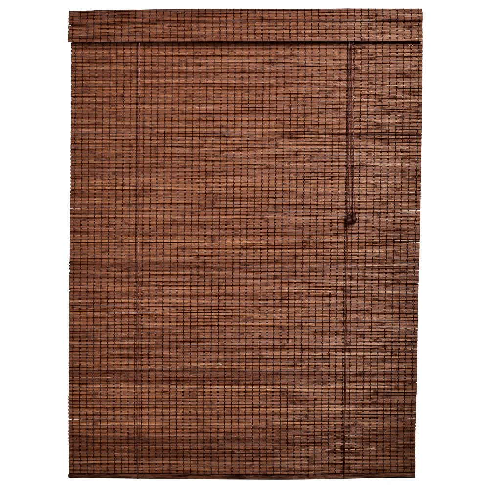 Bamboo Roll up Blind Dark Brown 1200 X 1600