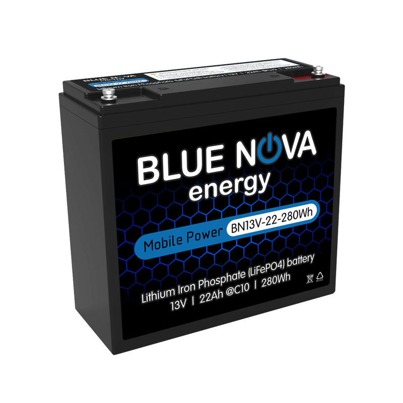 Lithium Iron Phosphate 13V - 22Ah -280Wh Battery