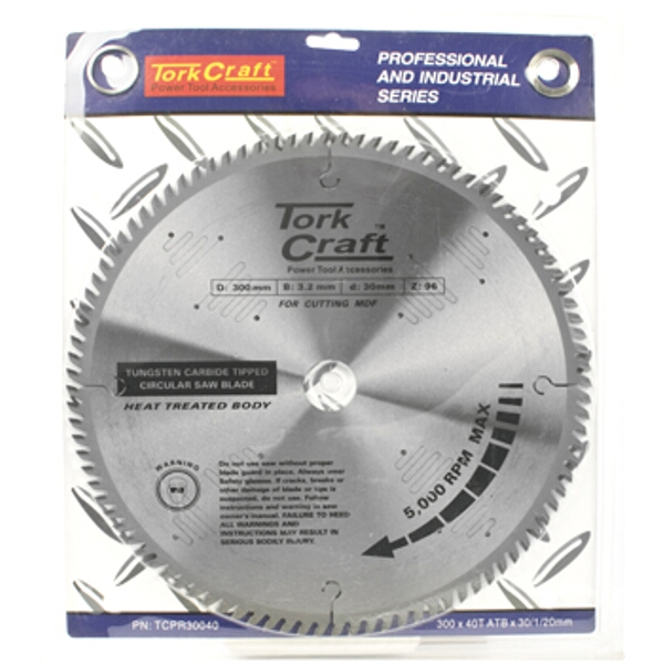 BLADE TCT 300 X 40T 30/1/20  ATB POSITIVE PROFESIONAL INDUSTRIAL