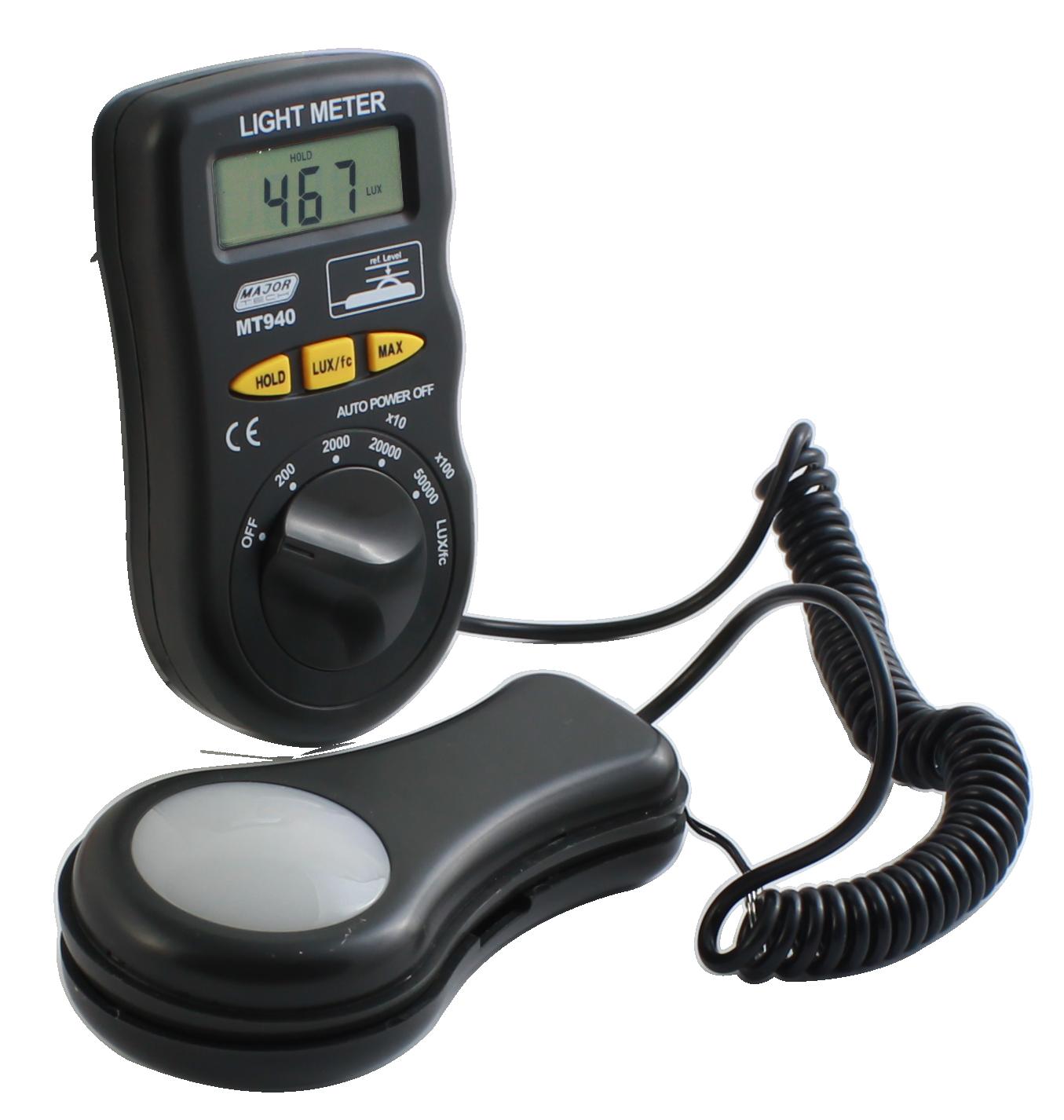 Digital Light Meter (MT940) - Major Tech