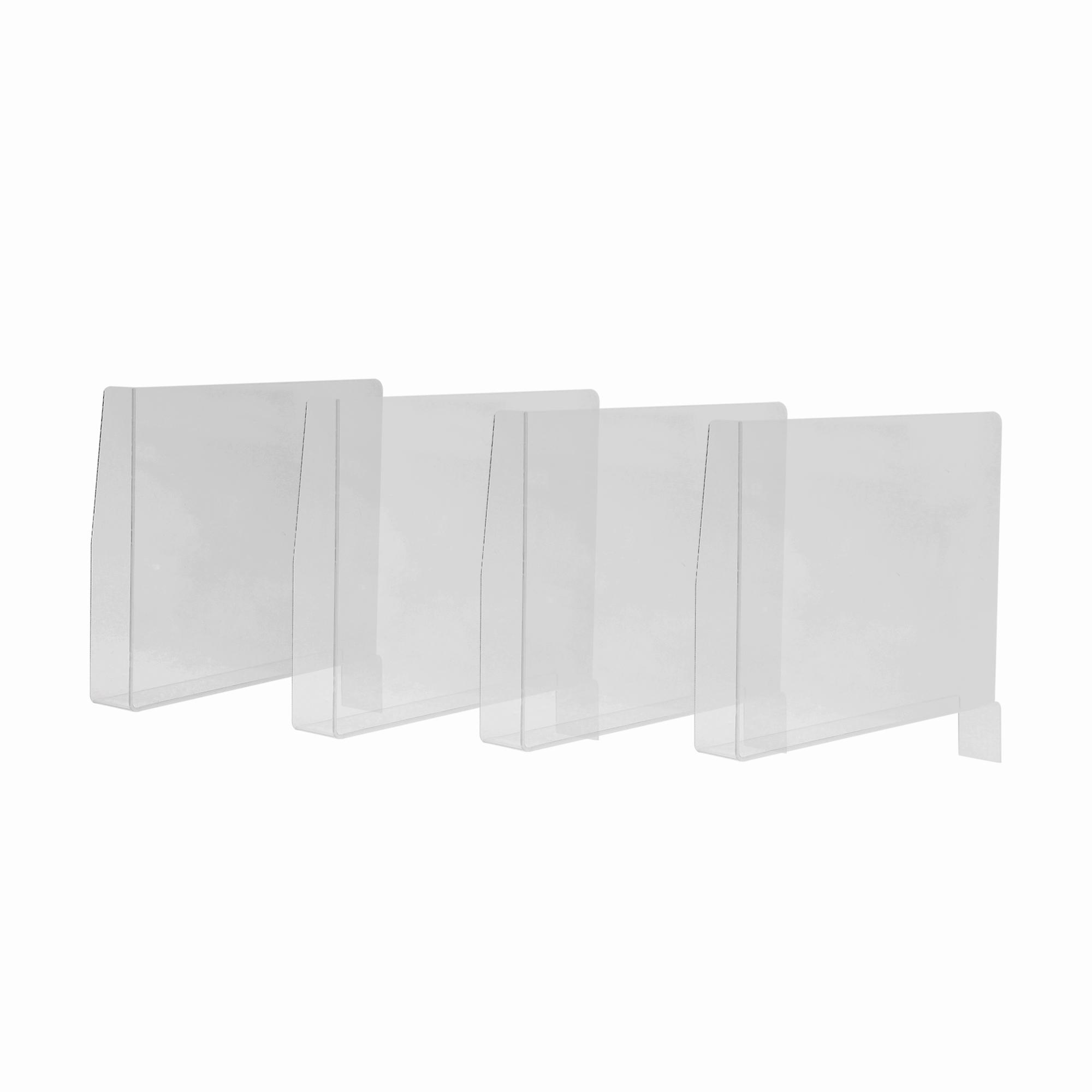 Ghost Shelf Divider Set of 4