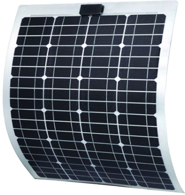 40W Semi-Flexible Solar Panel