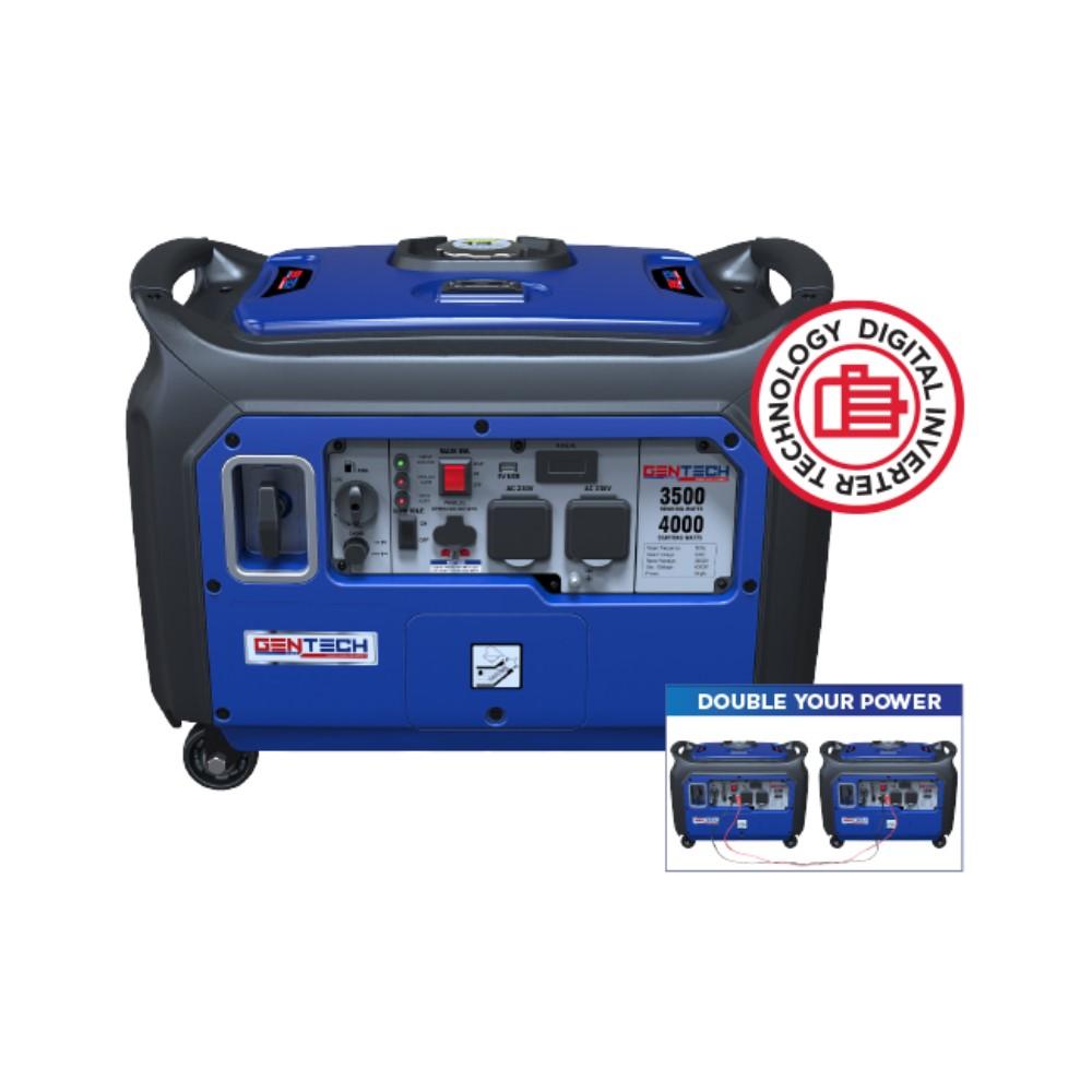 4KVA Pure Sinewave Electric Start Inverter Generator