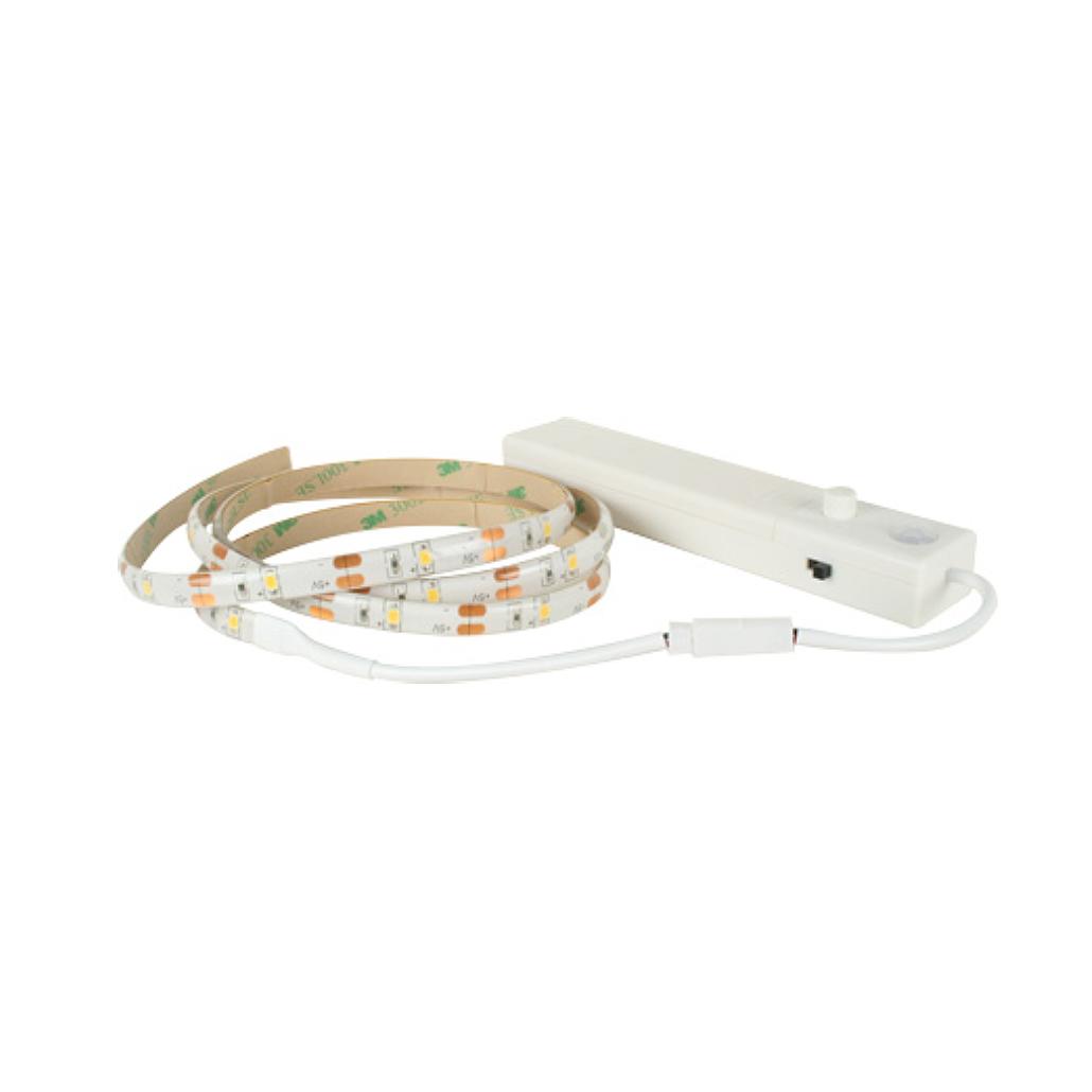 Battery Powered Motion Sensor LED Strip Cabinet Light