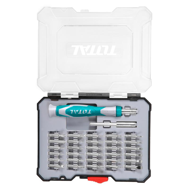 Total Tools Precision Screwdriver Set 32Pcs