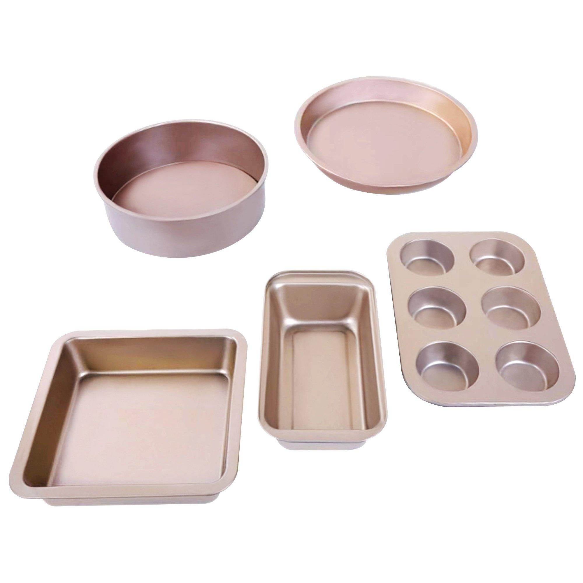 5Pcs Non Stick Bake Ware Set