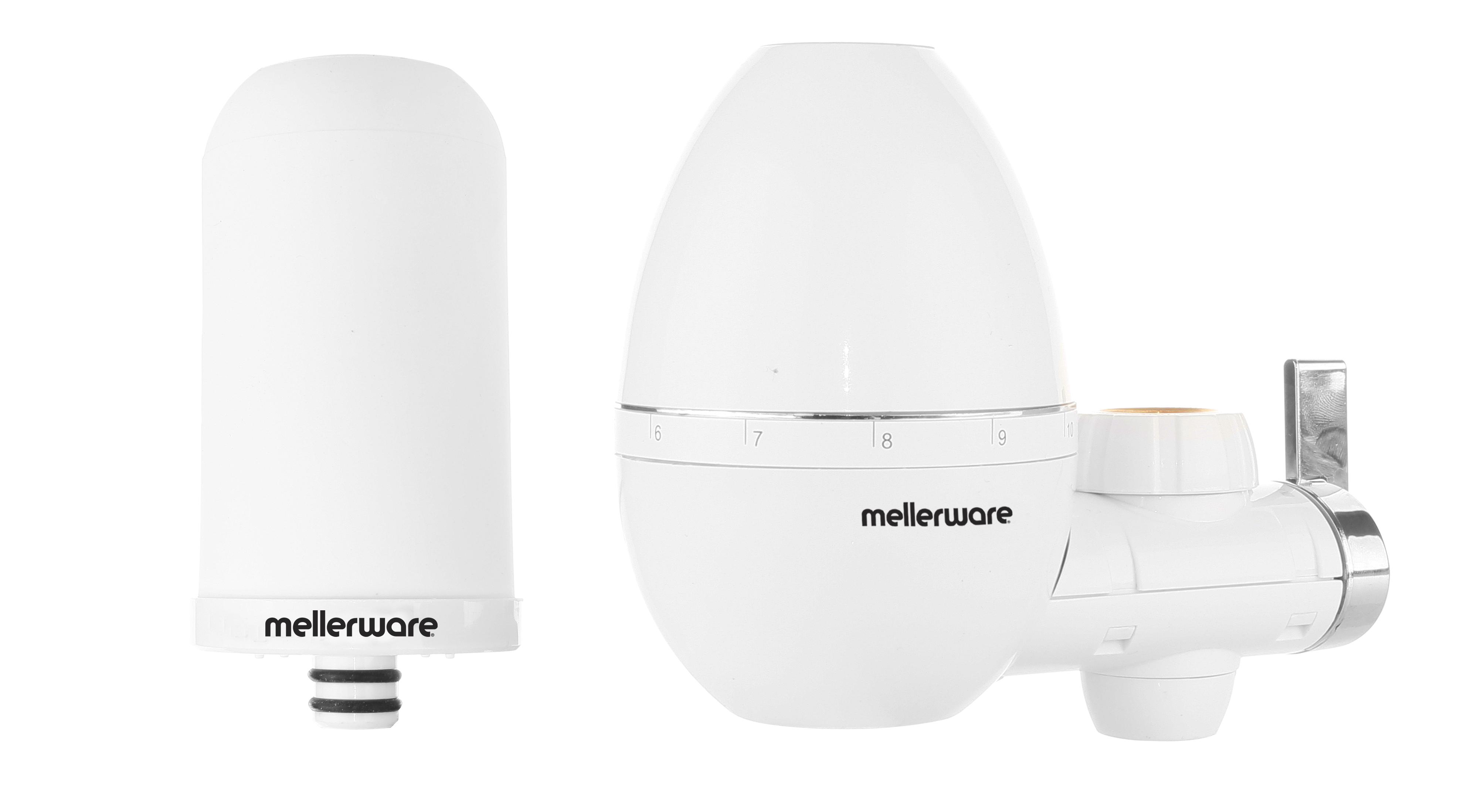 "Mellerware Tap Filter Plastic White 2000L Per Filter ""Purify"""
