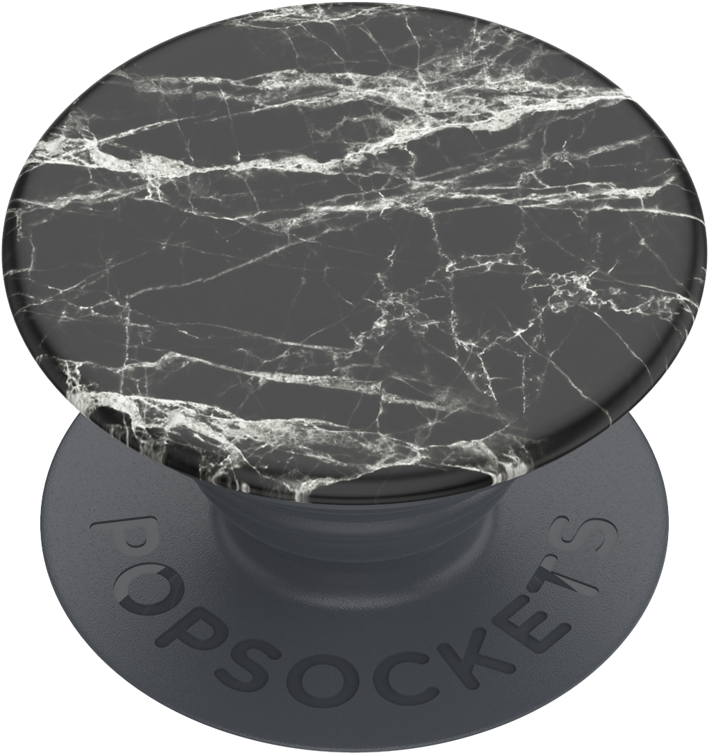 Popgrip Basic - Black Modern Marble