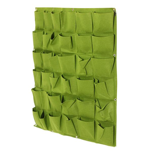 Fine Living 36 Pockets Wall Planter - Green