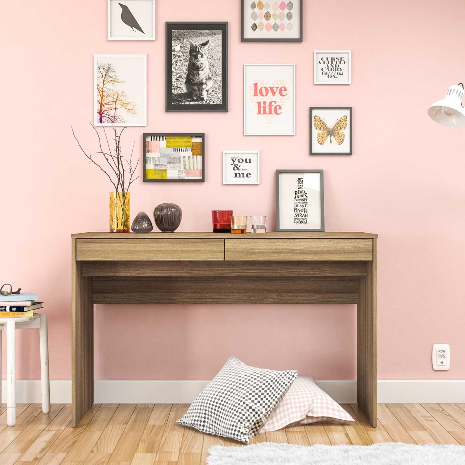 Click Furniture Iris Brown Desk