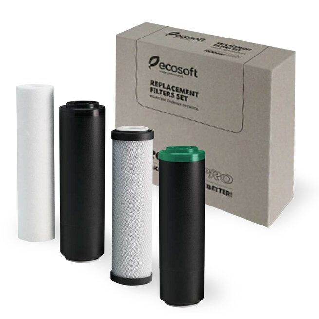 Ecosoft Cartridge Set 1-2-3-4 For Robust RO System